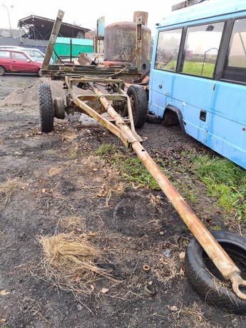 Прицеп тележка-удлинитель для долгомерных грузов