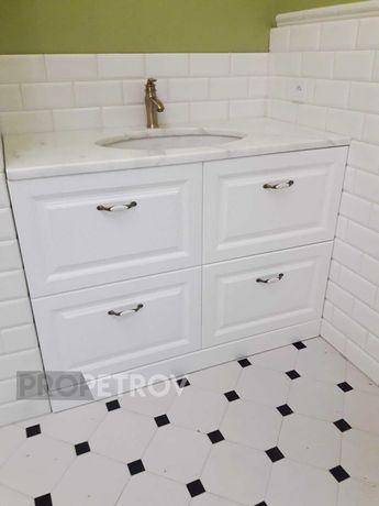 Мебель для ванной комнаты под заказ. Частный мастер