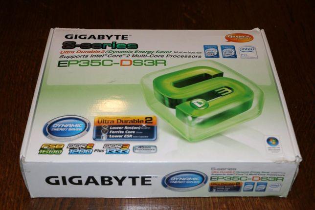 Płyta Główna Gigabye GA-EP35C + procesor + RAM 4 GB