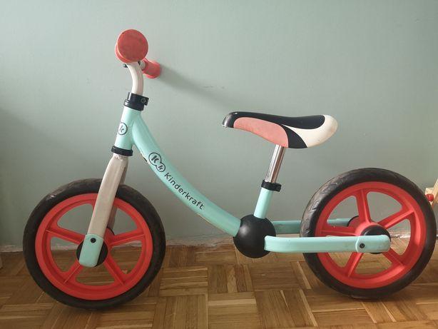 Rowerek biegowy Kinderkraft miętowy