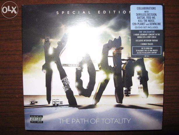 KORN The Path Of Totality.Special Edition [CD+DVD] Nowa.Folia.Unikat!