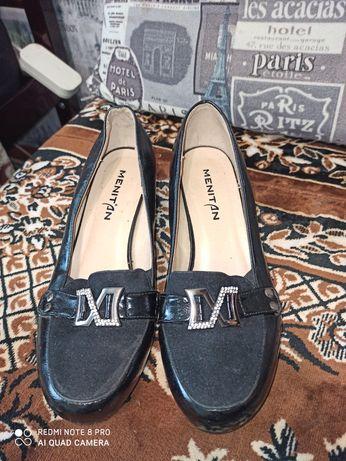 Женские туфли искуственная кожа и замша