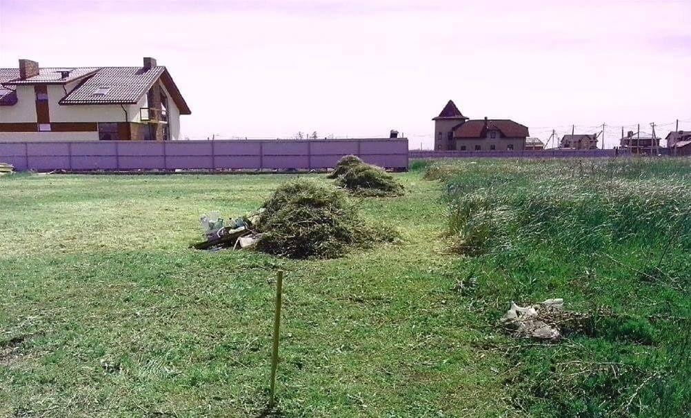Благоустройство участка. Земельные работы вручную.