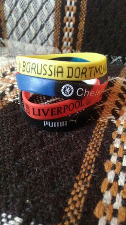 Bransoletki Borussia Liverpool Man United Chelsea Puma