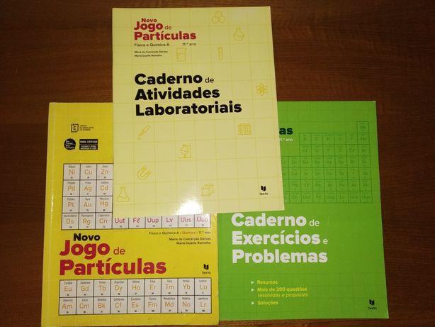 Manual + Cadernos - Novo Jogo de Partículas 11°ano - Texto Editora