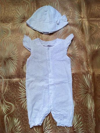 Панамка детская, песочник, ромпер детский, шляпка,шляпа, панама летняя