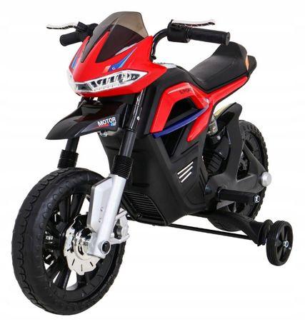 Motor na akumulator Night Rider Czerwony