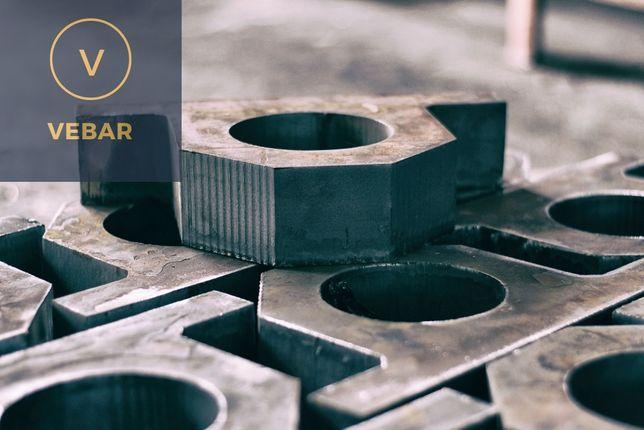 Cięcie wypalanie plazmą CNC blachy marki PLAZMA wypałki od 6,90zł/kg