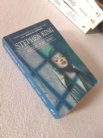 Książka Cztery pory roku Stephen King Wysyłka 1 zł