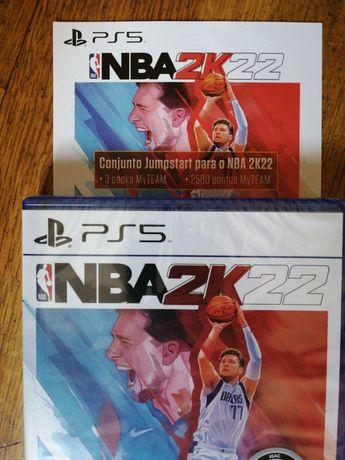 NBA2K22 ps5 Selado + Jumpstart