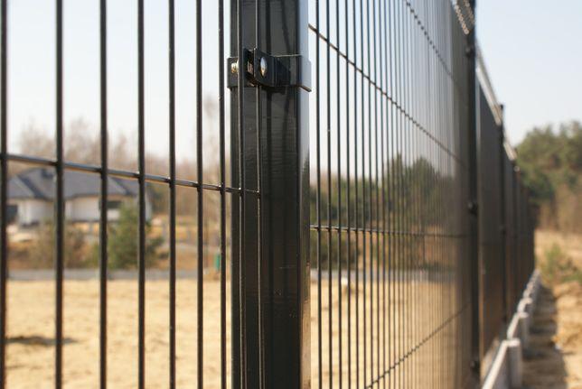 Panele ogrodzeniowe, Panel ogrodzeniowy -antracyt, wys. 1,73m, fi4mm