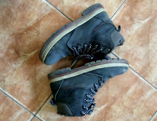 Нубукові черевики для хлопчика