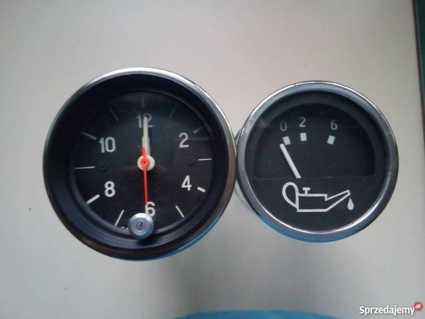Zegary samochodowe