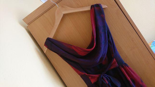 Sukienka Orsay fioletowa czerwona 36-38