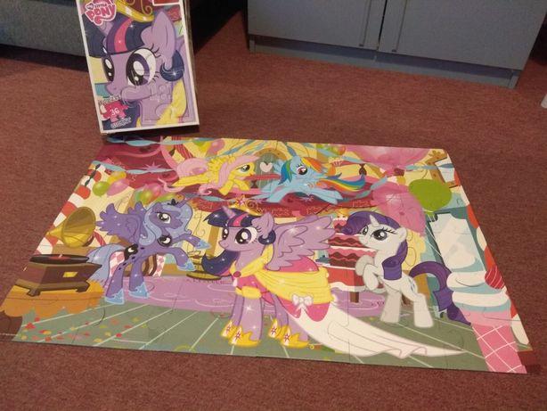 Puzzle duże my little pony