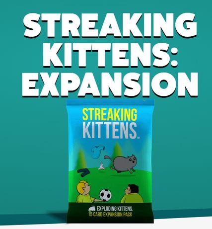 STREAKING Kittens - expansão