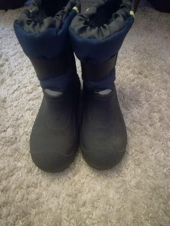 Buty śniegowce..