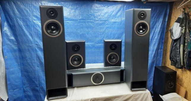 Акустика на заказ (акустические системы 5.0, полочники, мониторы)