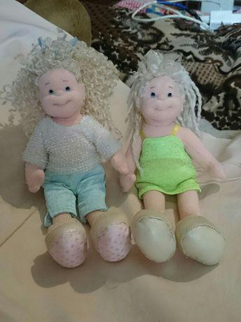 Куколки текстильные