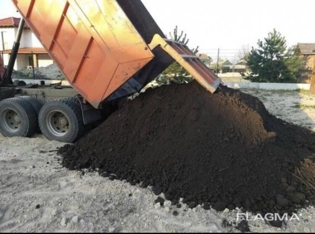 Чорнозем Торф Земля Грунт Пісок Щебінь Відсів Мачка Гравій Чернозем