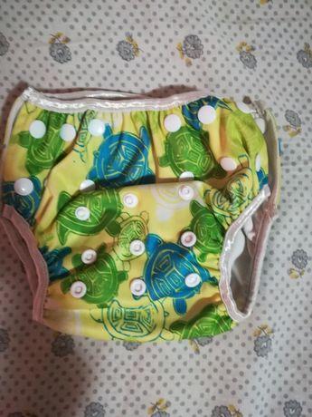 Купальный подгузник памперс для плавания купания многоразовый