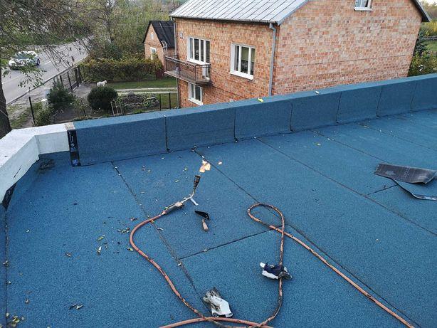 Dachy płaskie, tarasy, balkony. Krycie, naprawa, hydroizolacja.