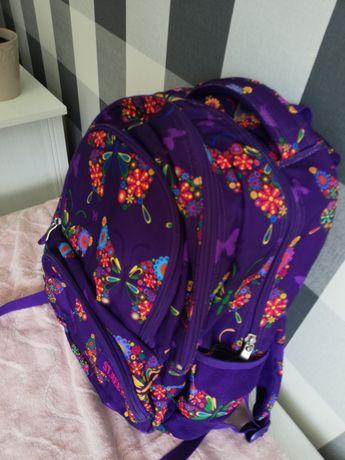 Plecak szkolny st Majewski w motyle