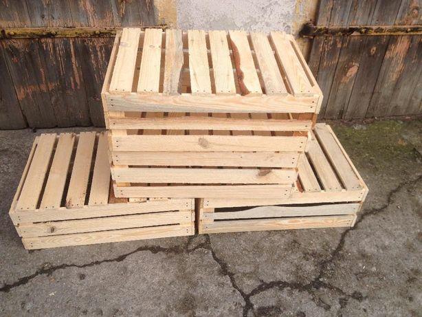 Skrzynki drewniane dekoracyjne nowe każda ilość 60x40x20