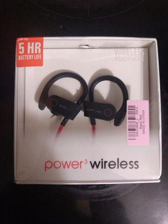 Wireless Power headphones
