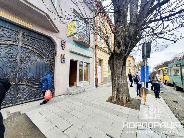 Оренда комерційного приміщення 20м.кв. на пл.Петефі у центрі Ужгорода