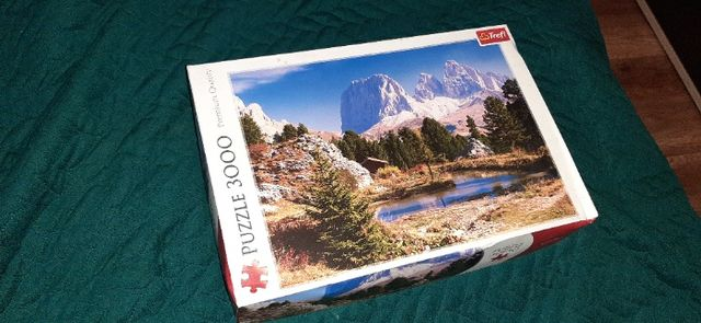 Puzzle Trefl 3000 góry