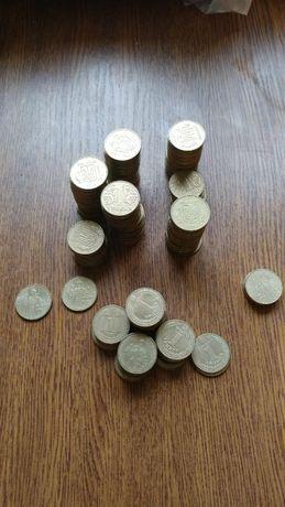 1 гривна коллекция монет Владимир Великий, 60 лет победы юбилейные