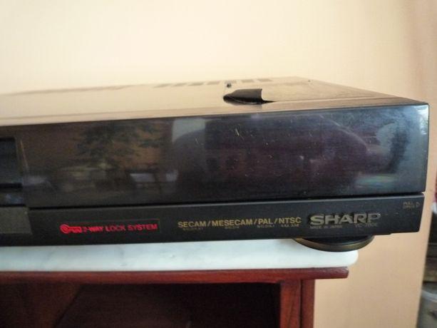kolekcjonerski Magnetowid SHARP VC-780E, DO NAPRAWY