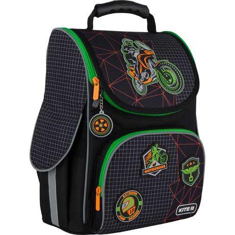 Рюкзак 501 школьный каркасный Kite Education Motocross K21-501S-2