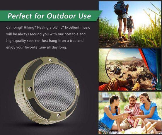 MindKoo MK-062 Coluna Bluetooth 5W Stereo Sound Waterproof