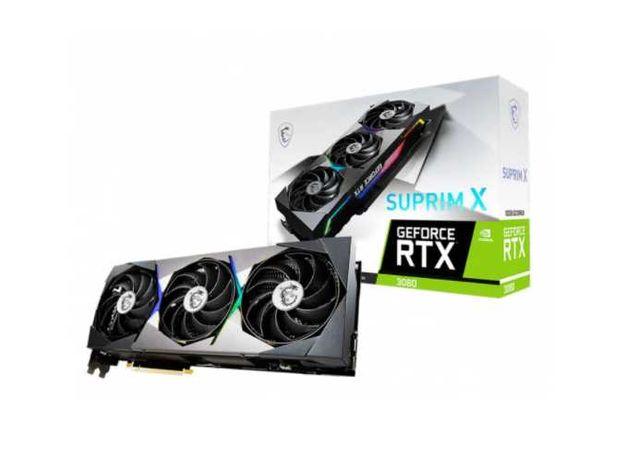 Karta Graficzna MSI GeForce RTX 3080 SUPRIM X 10GB FAKTURA VAT