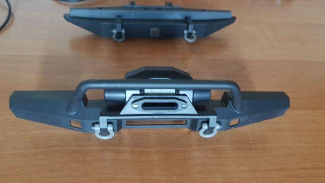 TRAXXAS TRX4 Defender Komplet zderzaków Przód i tył.