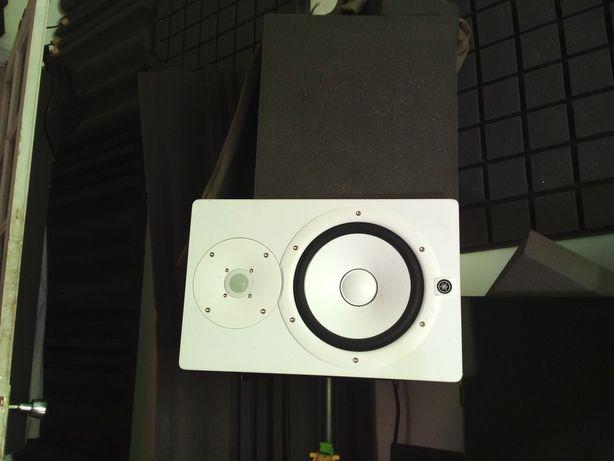 Yamaha HS8 Branco 2x Monitor de Estúdio com tripés