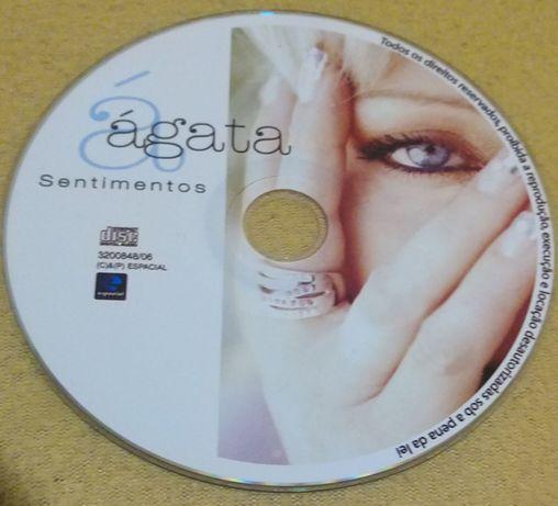cd musica portuguesa Agata - Sentimentos (so cd)
