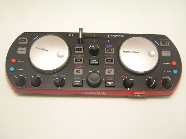 Kontroler DJ Kruger&Matz DJ-001 domowy