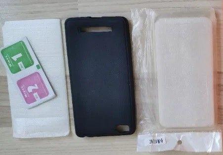 2 x etui + matowe szkło Xiaomi Mi4C, Mi4I