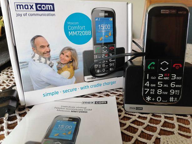 Telefon dla seniora, z funkcją SOS, gwarancja