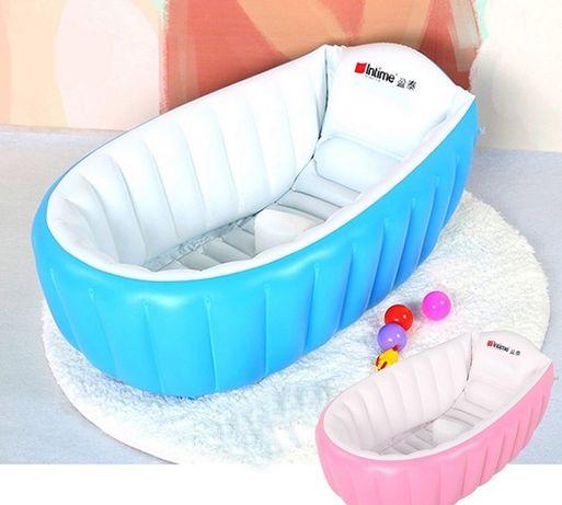 Надувная ванночка Intime Baby Bath Tub для купания ребенка