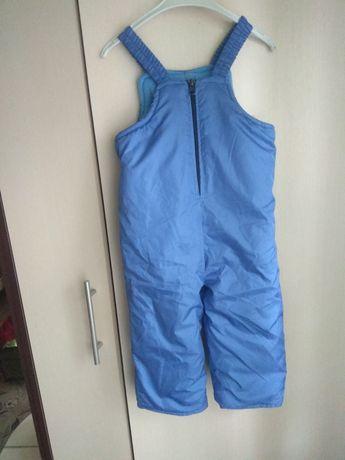 Зимові штани (комбінезон), на зріст 80-86 см