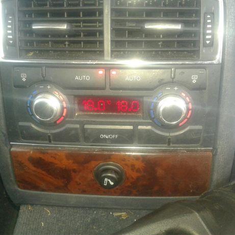 Audi a8 d3 panel klimatyzacji tył