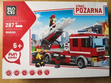 Straż pożarna-wóz strażacki