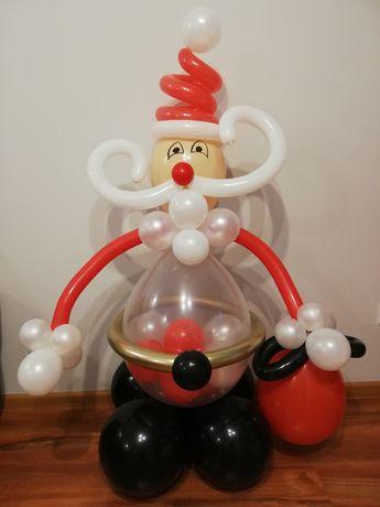 Balonowy Mikołaj