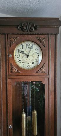 Antyk Stary zegar stojący sygnowany LFS