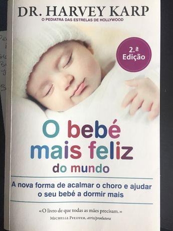"""Livro """"O bebé mais feliz do mundo"""""""
