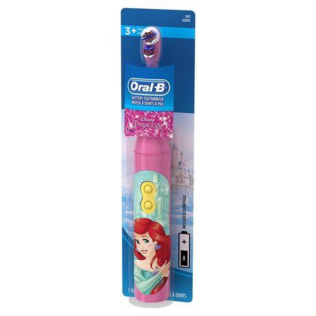 Детская электрическая зубная щётка Принцесса, Русалочка, Рапунцель